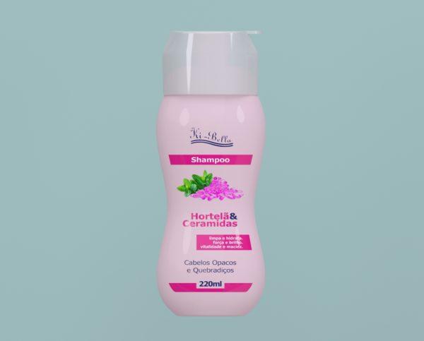 Shampoo Hortelã e Ceramidas 220ml