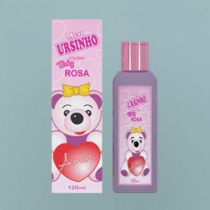 Desodorante Perfumado Rosa 120ml Meu Ursinho