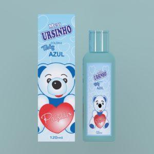 Desodorante Perfumado Azul 120ml Meu Ursinho