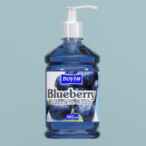 Sabonete Líquido com Válvula Blueberry 500ml