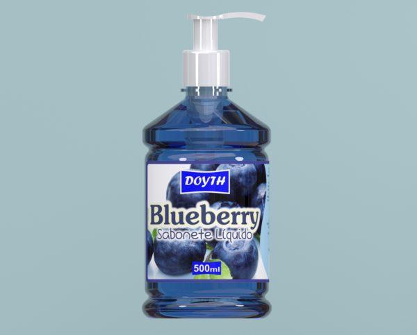Sabonete Líquido com Válvula Blue Berry 500ml