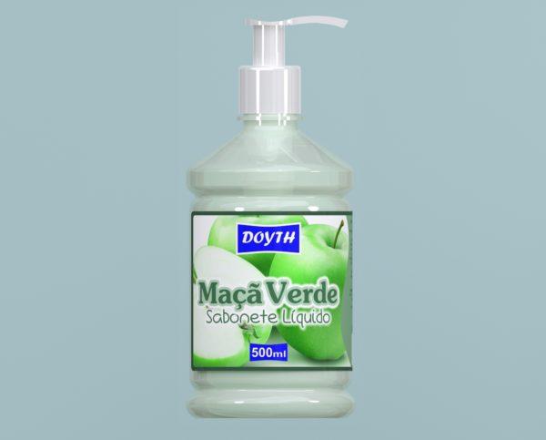 Sabonete Líquido com Válvula Maça Verde 500ml