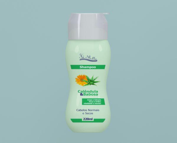 Shampoo Calêndula e Babosa 220ml