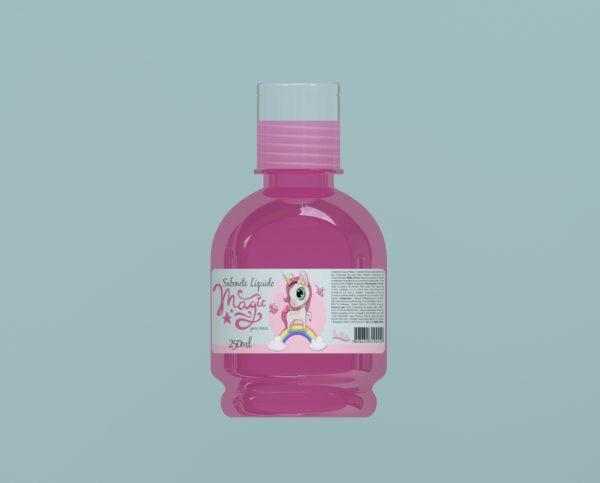 Sabonete Líquido Magic Rosa 250ml