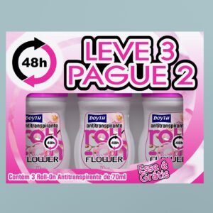 Desodorante Roll-on Leve 3 pague 2 Flower