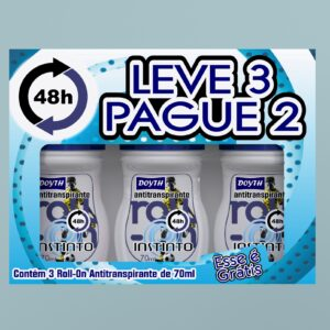 Desodorante Roll-on Leve 3 pague 2 Instinto
